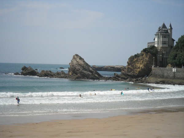 Cote basque beach